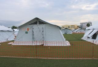 Hospital de Campanha entra em funcionamento