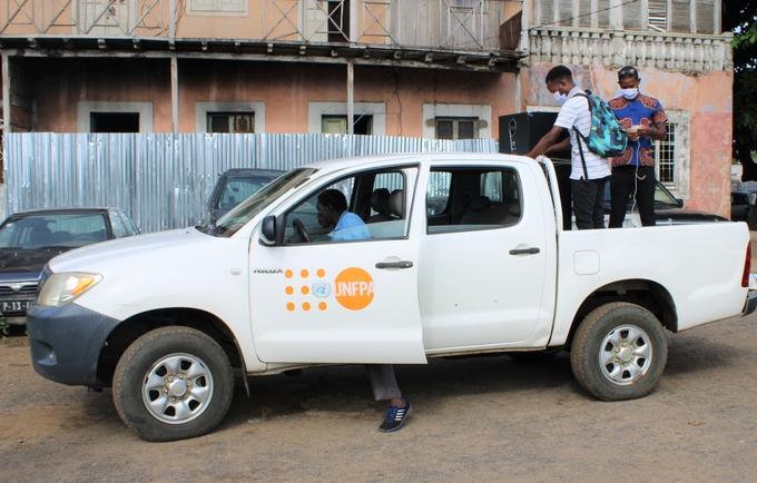 UNFPA apoia a implementação do Plano de Ação do MJDE contra o Coronavírus